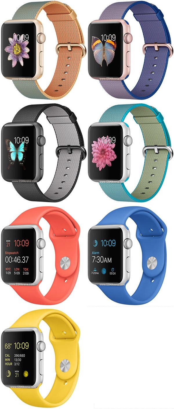 Apple Watch Series 1 Sport 42mm (1st gen) Colors