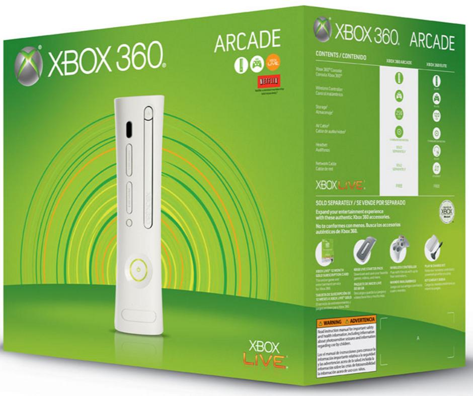 Xbox 360 Pro, Elite and Arcade