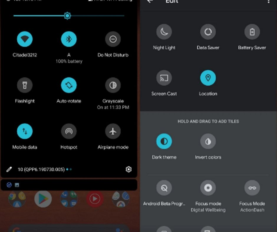 Steps to Change Accent Color in Android 10