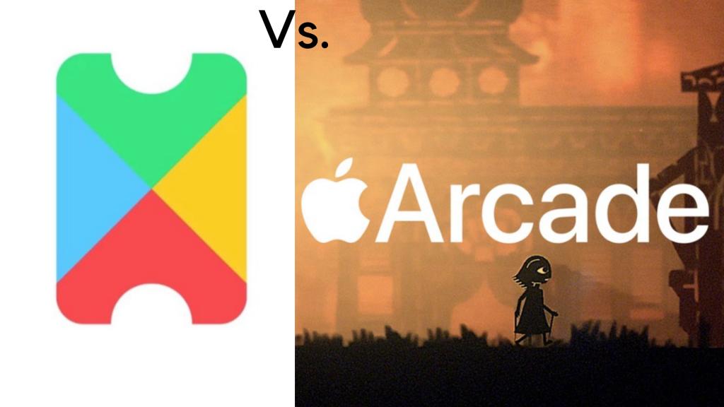 google play pass vs. Apple Arcade