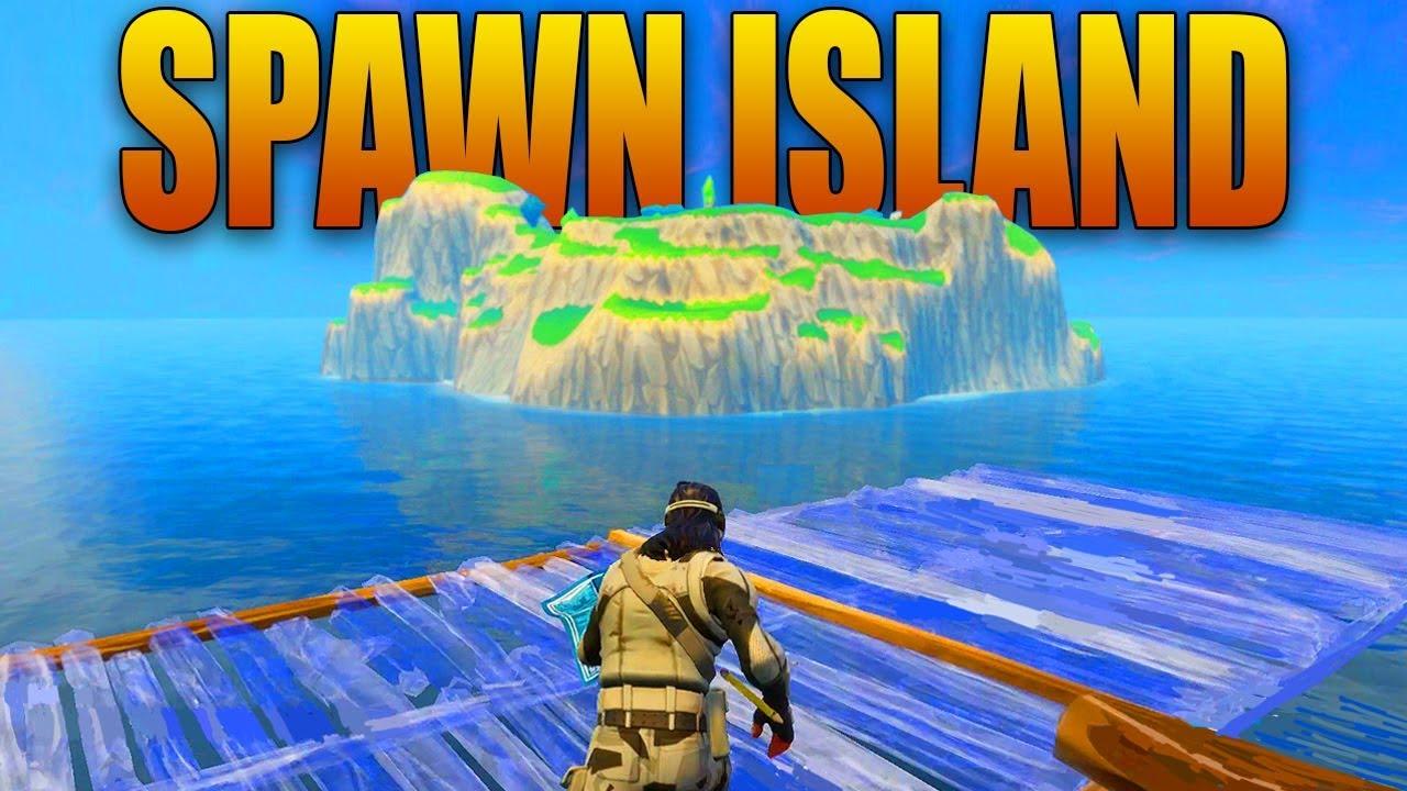 Fortnite Spawn Island