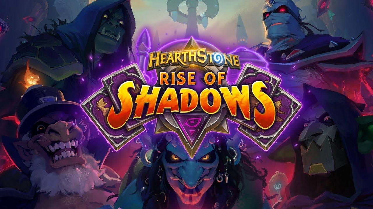 Hearthstone Rise of Shadows