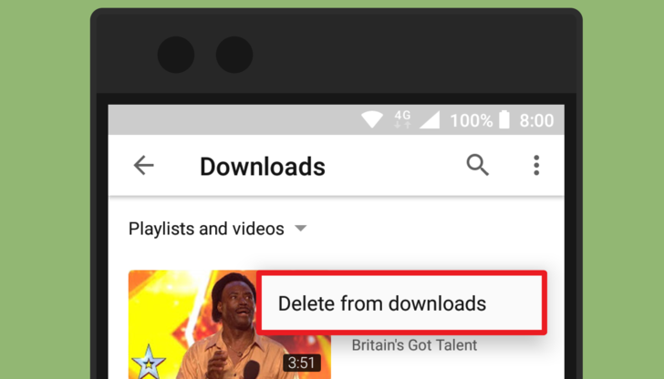 How to Delete All Offline Videos From the YouTube App