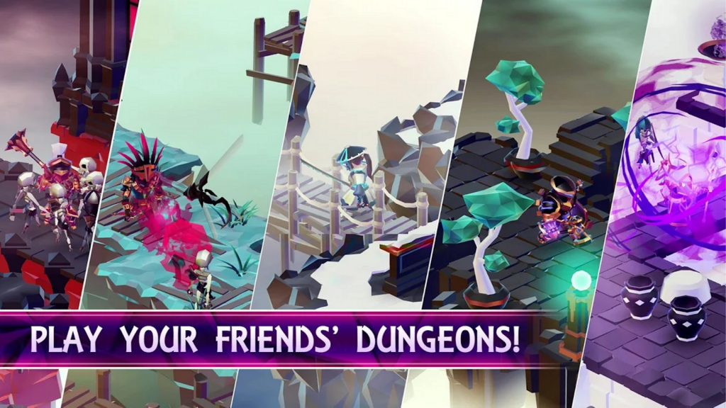 Play your friends' Dungeon