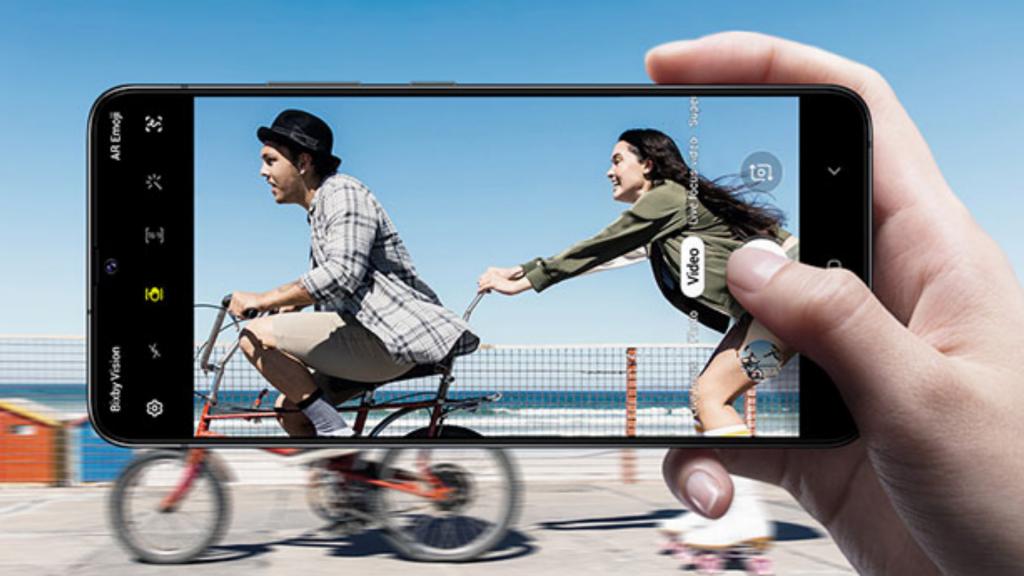 Samsung Galaxy A90 5G Camera