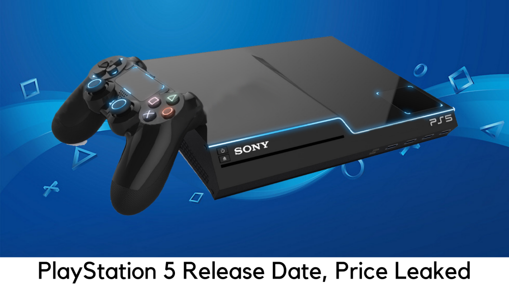 PS5 Price, Release Date Leaked
