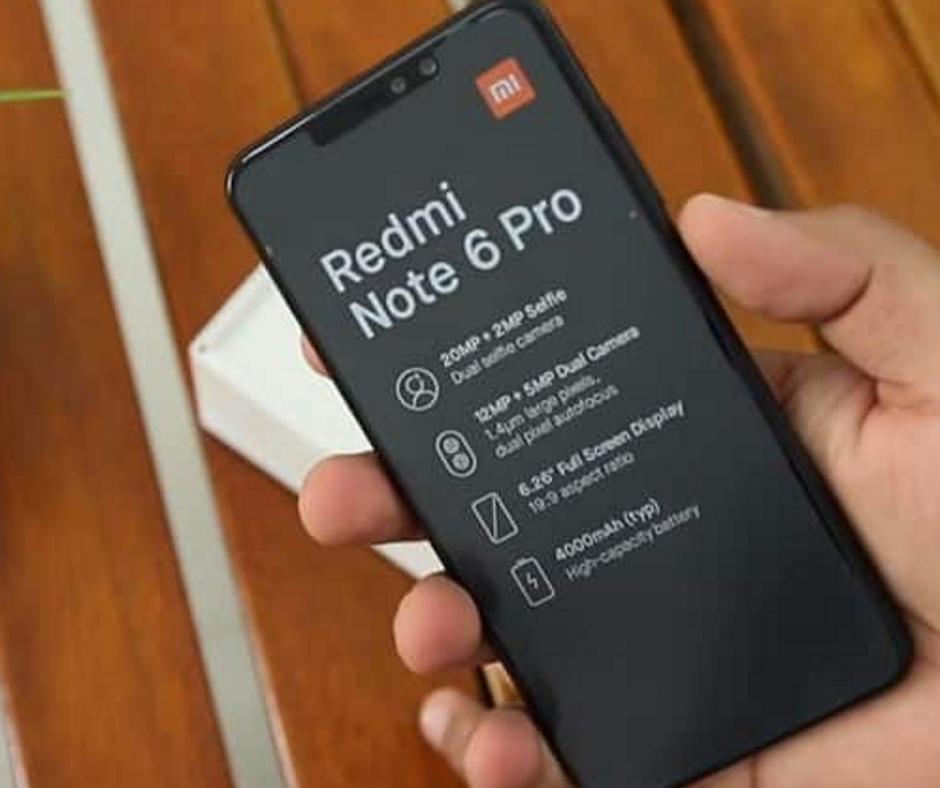Key Specs of Xiaomi Note 6 Pro