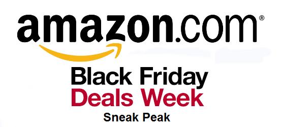 Amazon Black Friday Sneak Peek
