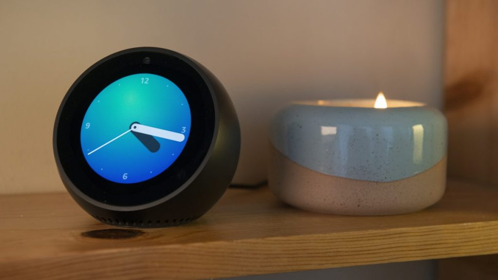 Amazon Echo Dot (3rd Gen) LED Clock