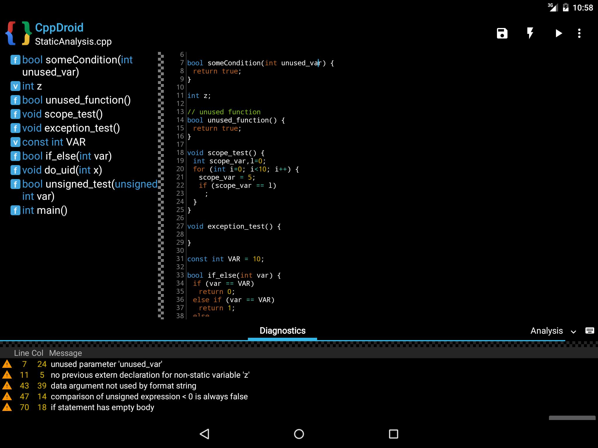 CppDroid For Android