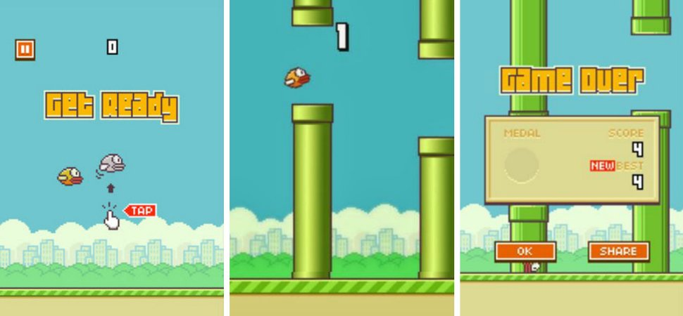 Flappy Royale reinvents Flappy Bird for a post