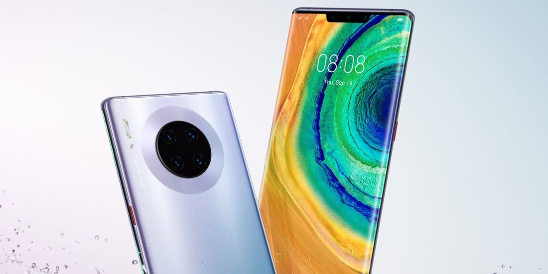 Huawei Mate 30 smartphone