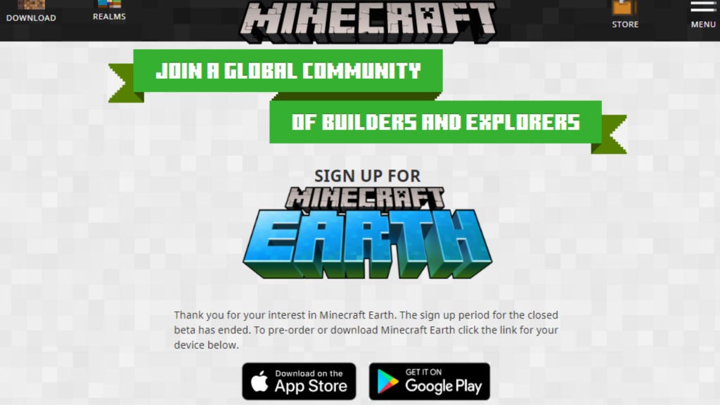 How to sign up for Minecraft Earth and get an early AR adventure?