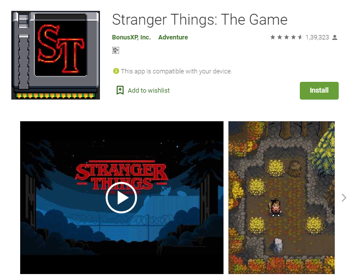 Best Adventure Games For Android - Stranger Things: The Game