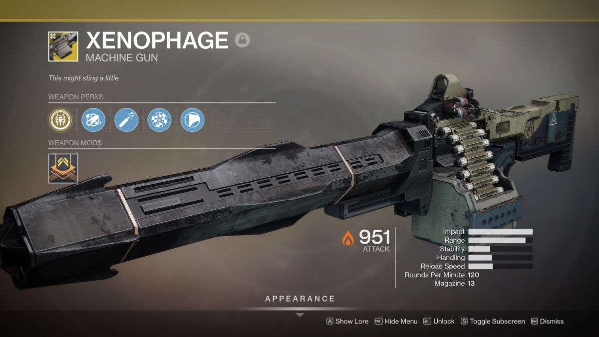 Xenophage of Destiny 2