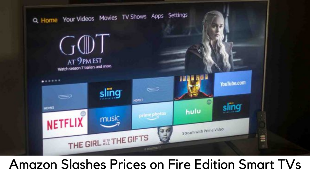 Amazon slashes prices on Toshiba and Insignia Fire Edition smart TVs