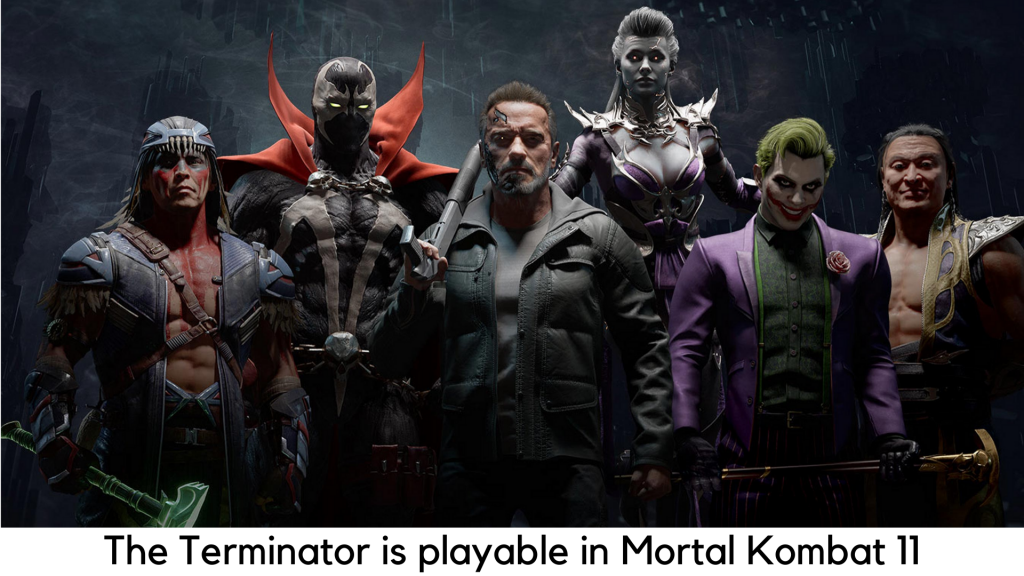 The Terminator is playable in Mortal Kombat 11