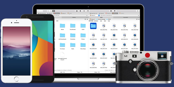 Android To Mac File Transfer: Commander One