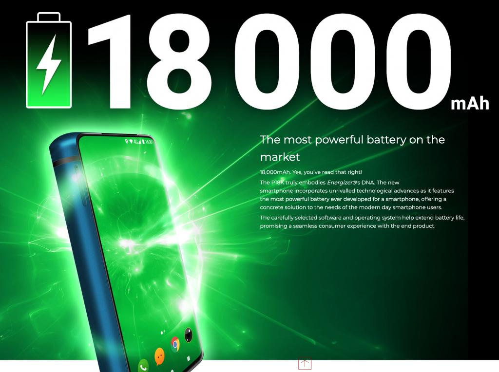 PowerMax P18K Pop Battery