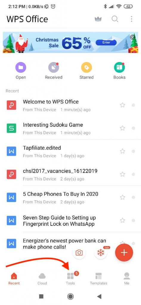 What app chat Export- WPS Tools
