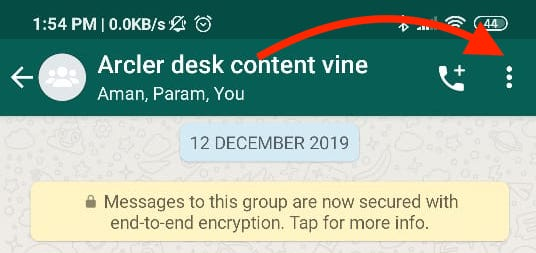 How to Export Whatsapp Chat
