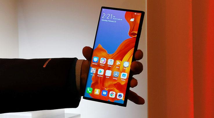 Huawei Mate X Folded