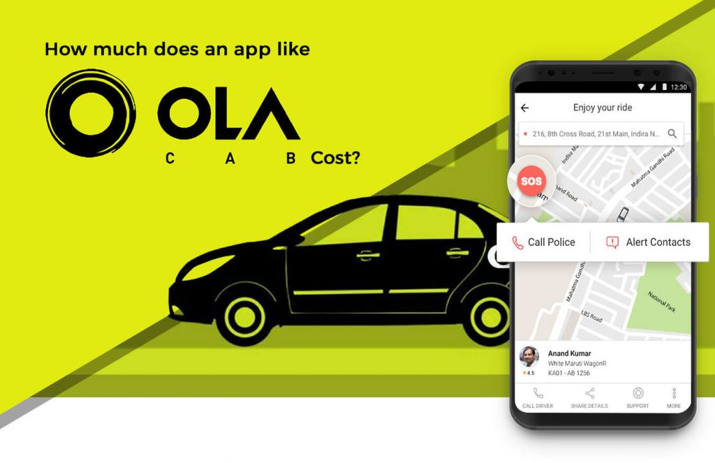 Ola Android/iOS Apps for Daily Use