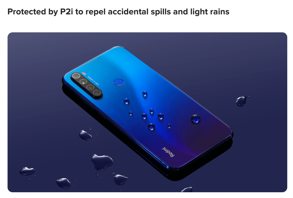 Redmi Note 8 Specifications