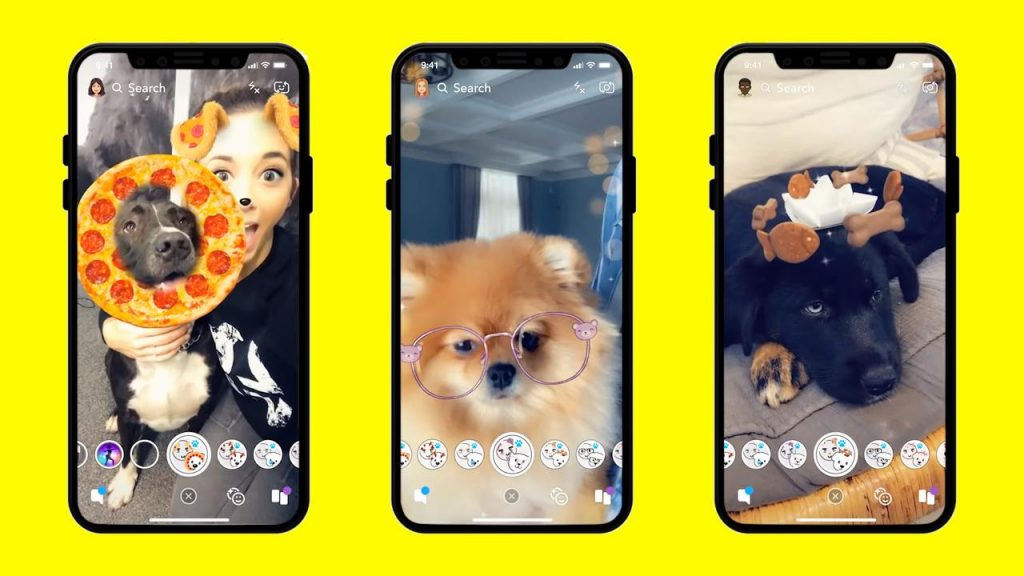 Snapchat New Camera Mode