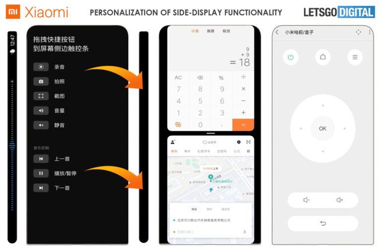 Xiaomi Patent for Phone