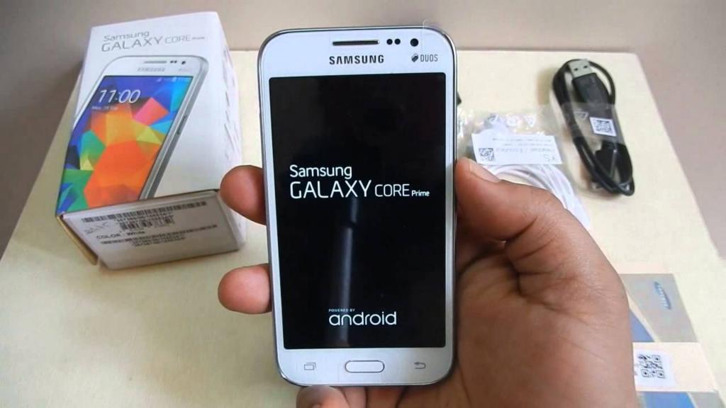 Samsung Galaxy Prime Core Design