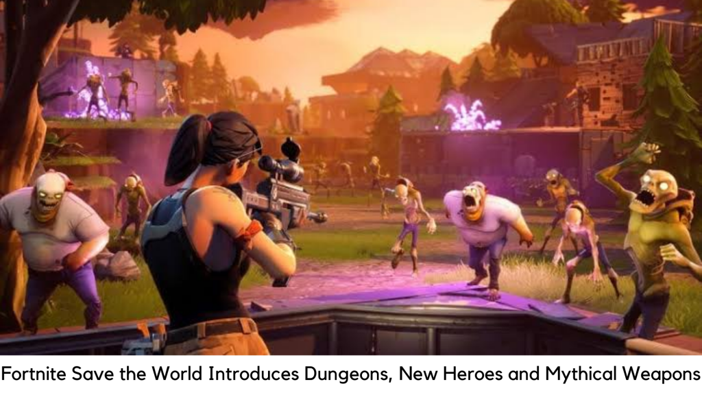 Fortnite Save The World Mode Introduces Dungeons