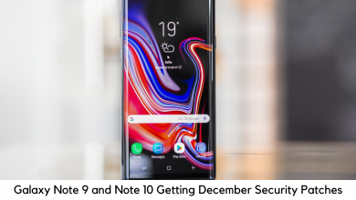 Photo of Samsung Galaxy Note 9 and Note 10