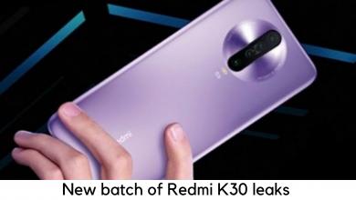 Photo of New Batch of Redmi K30 leaks