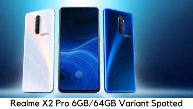 Photo of Realme X2 Pro, 6GB RAM and 64GB Storage Option