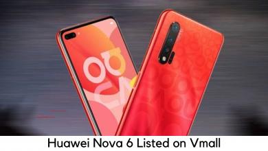 Photo of Huawei Nova 6 Listed on VMall