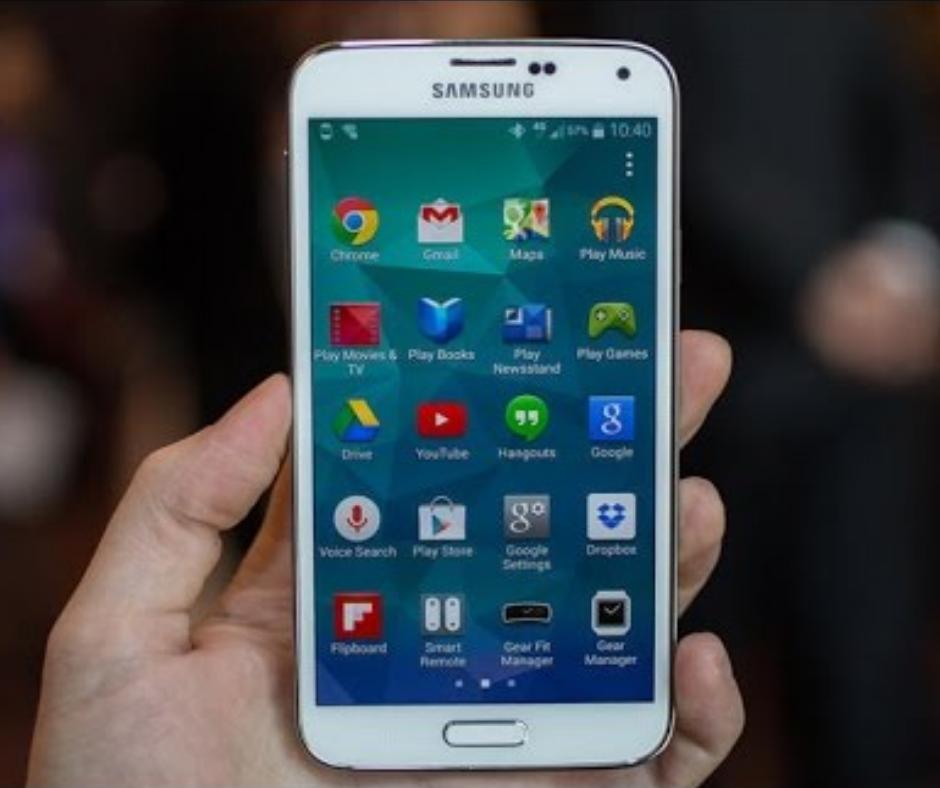 Samsung Galaxy Prime Core Interface