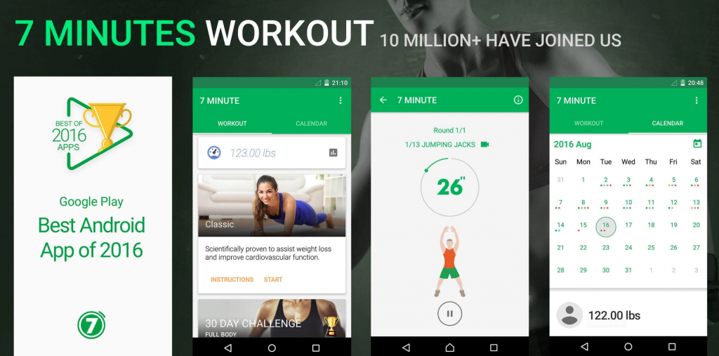 The Best Workout Apps In 2020