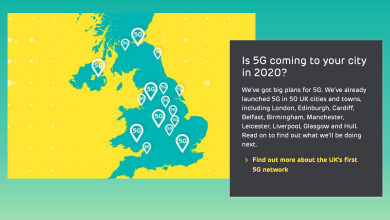 Photo of EE's Switches On 5G Network For 50 Cities, More To Join Next Year