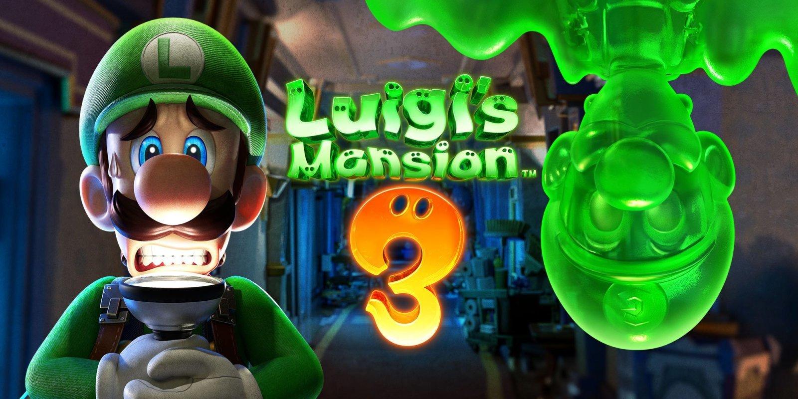 Nintendo Switch Exclusives- Luigi's Mansion 3