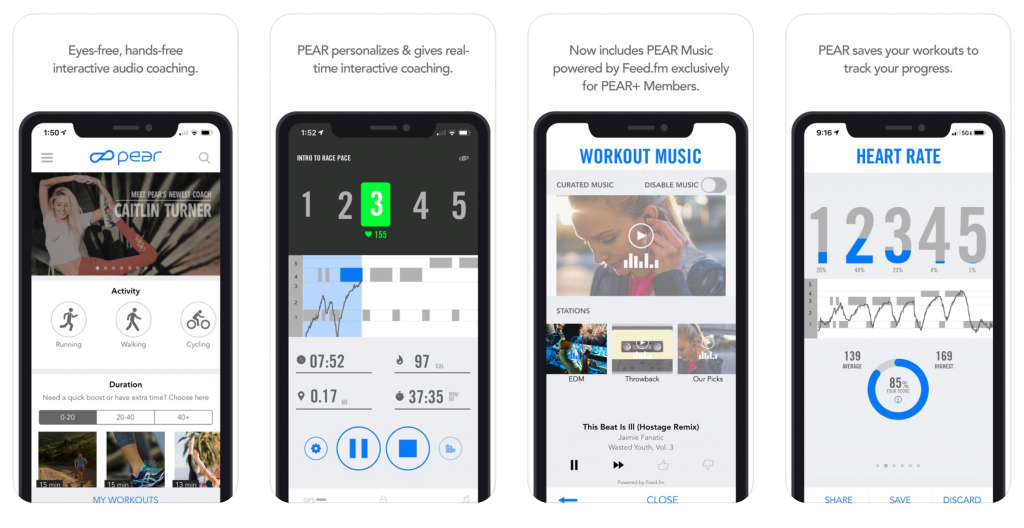PEAR Personal Fitness Coach- Best Workout App