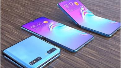 Photo of Samsung Galaxy Z Flip leak points to a tiny secondary display