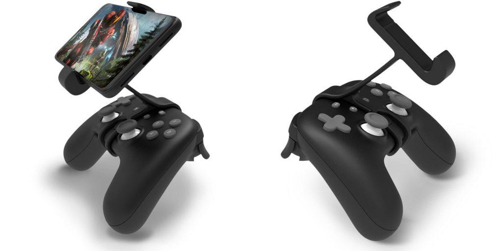Stadia controller phone mount