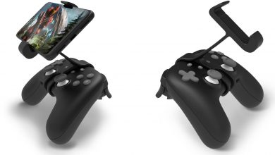Photo of The official Stadia controller phone mount is now available for $15 on the Google
