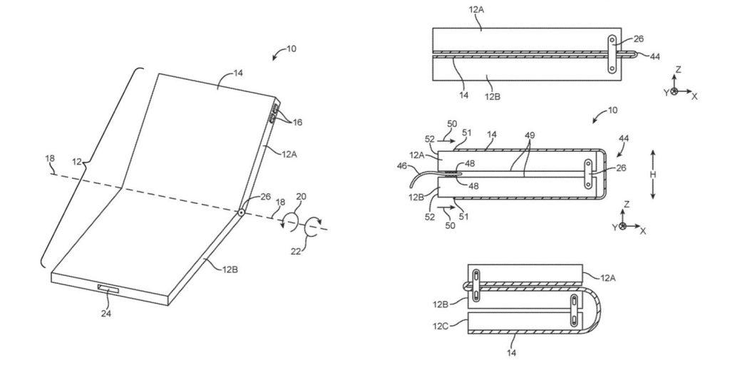 Apple Folding Phone Patent