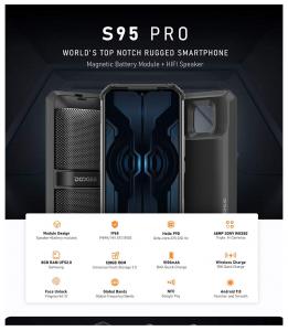 Doogee S95 Pro Features