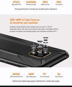Doogee S95 Pro camera
