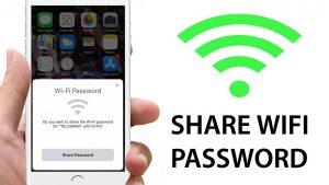 Easily Share WiFi Passwords