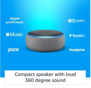 Echo Dot 3rd Gen Features