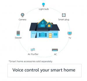 Echo Dot 3rd Gen Voice Control